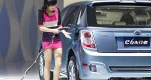 China Elektroauto Elektromobilität