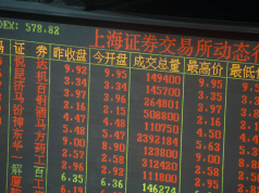 Aktien China, Notierung in Shanghai