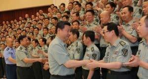China Xi Jinping vor dem Parteikongress