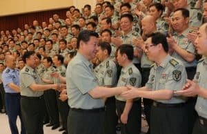 China Xi Jinping vor dem Parteikongress