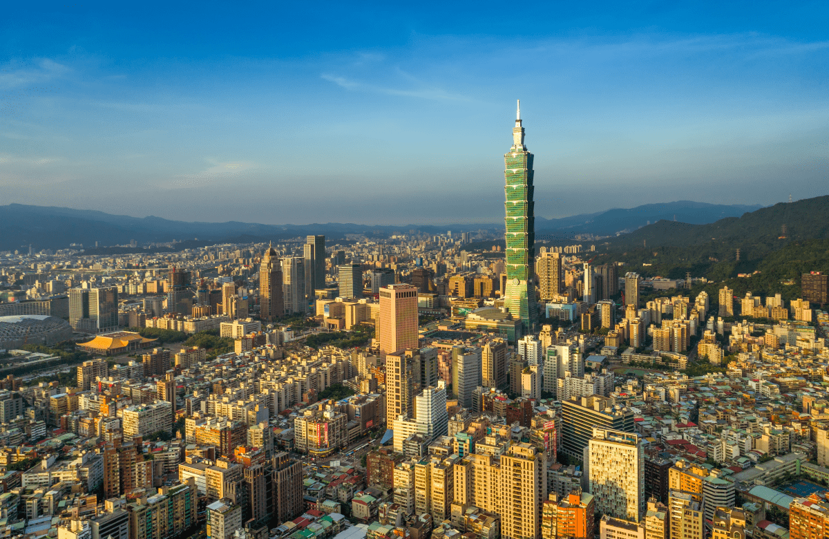Taiwan Haupstadt Taipei