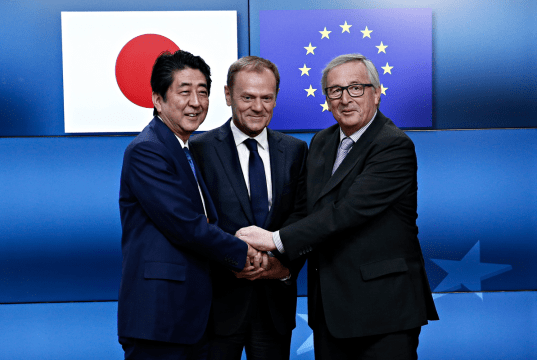 Japan EU schließen Freihandelsabkommen