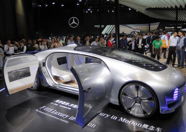 Elektromobilität Asien: Konzeptauto von Mercedes
