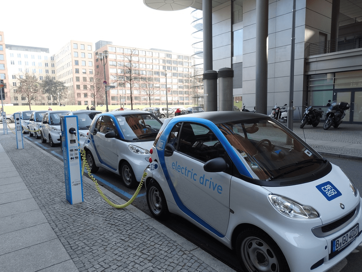 Elektromobilität Ladestation