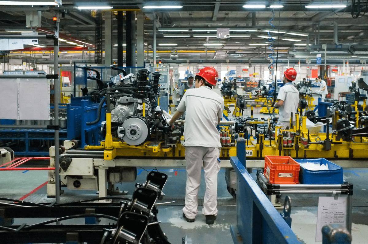 China Wirtschaft: Automobilproduktion in Chengdu, China