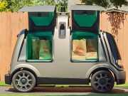 Delivery robot of US start-up Nuro. Source: Nuro, Inc.