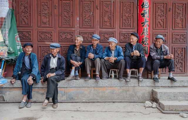 Asiatische Bevölkerung wird immer älter.