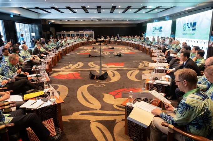 Annual Meeting of the Asian Development Bank. Board of Governors. Governors' Plenary, Fiji