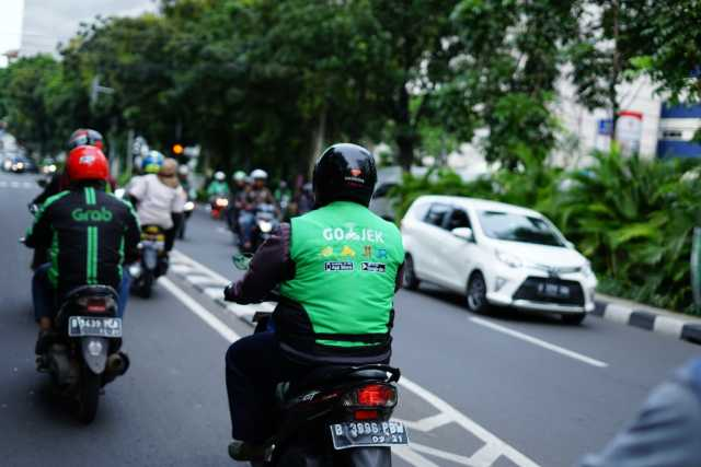 Ride-hailing services in Asia on the rise.