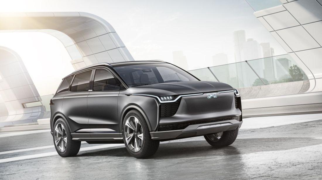Chinesische Elektroautos: der neue Aiways U5 SUV