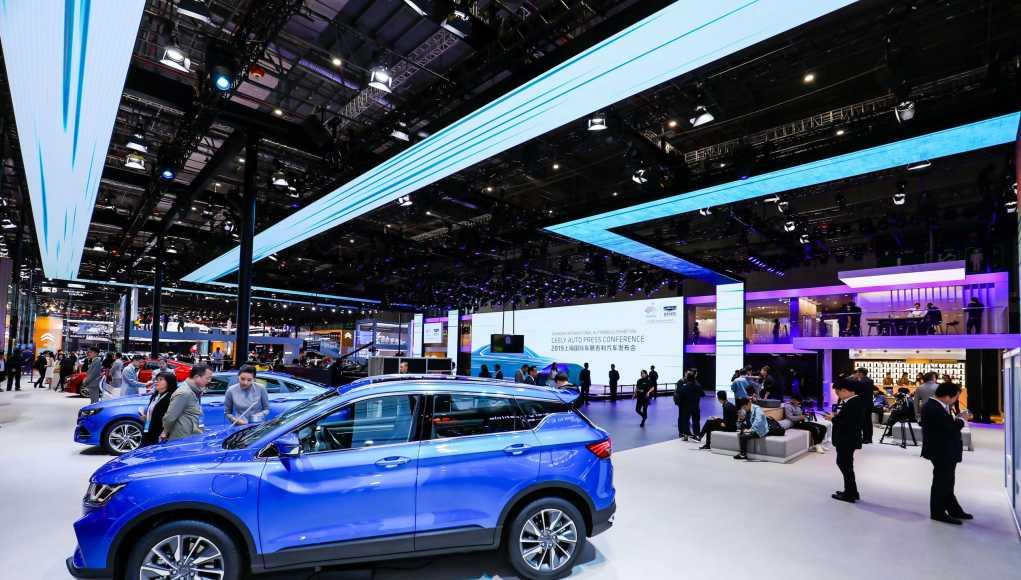 Chinesische Elektroautos auf dem Vormarsch: Geely, 2019 Shanghai Auto Show