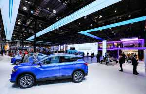 Chinese electric cars on the rise: Geely, 2019 Shanghai Auto Show