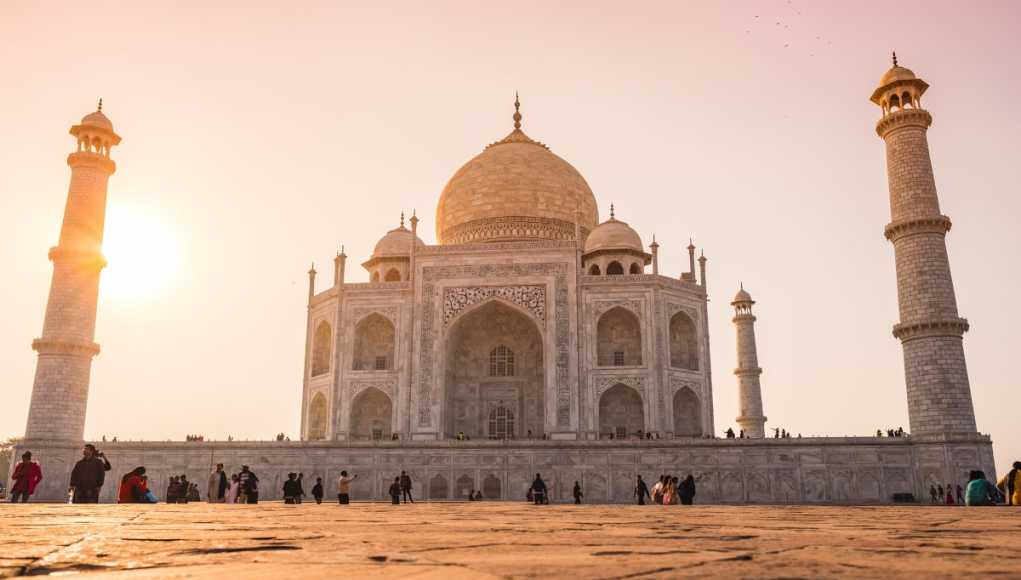 Indian economy: What investors should know. Taj Mahal in Agra, symbol of India.