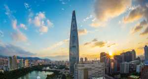 South Korean Economy: Lotto World Tower