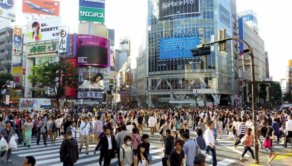 Shibuya in Tokyo - symbol of Japanese economic dynamism