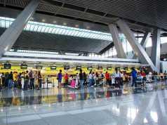 Asien Luftfahrt: Terminal NAIA 3 Flughafen Manila