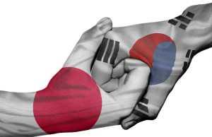 Japan und Südkorea: beim Handel im Clinch