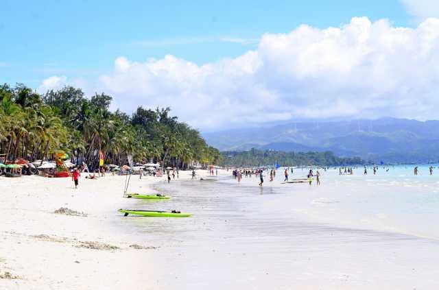 Philippinische Insel Boracay, Tourismus fördert philippinische Wirtschaft