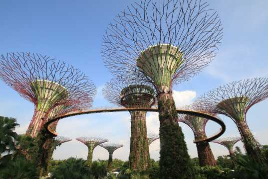 Singapur Wirtschaft - Gardens by the Bay