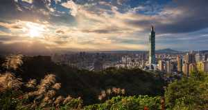 Taipeh, Hauptstadt von Taiwan