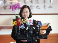 President Ing-wen Tsai ahead of the Taiwan Election 2020