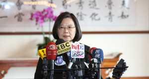 Ing-wen Tsai vor der Taiwan Wahl 2020