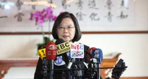President Ing-wen Tsai ahead of the Taiwan Election 2020