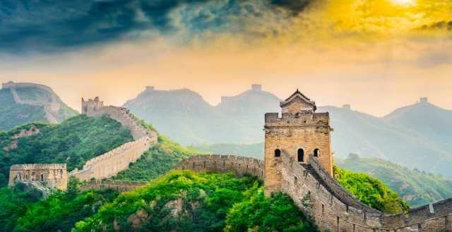 Chinas eindrucksvolles Symbol - die Große Mauer
