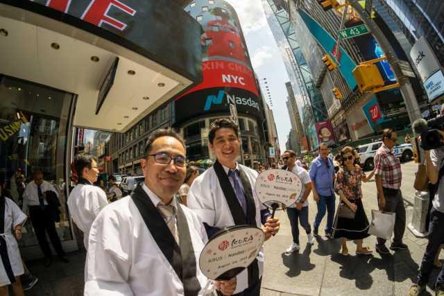 Japanese restaurants are gaining popularity