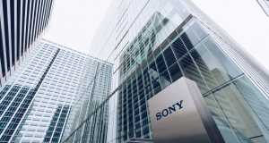 Sony Headquarter in Tokyo: Sony shares in check