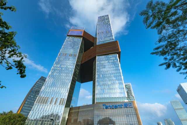 Tencent Aktien im Aufwind