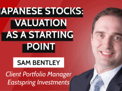 Japanese stocks: valuation as a starting point
