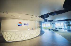 Sea Group, office lobby
