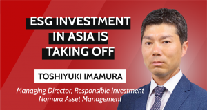Nomura ESG investment interview