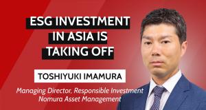 Nomura ESG investment interview