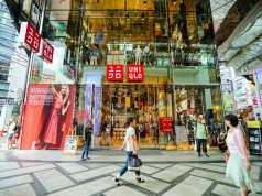 Geschäft des japanischen Einzelhändlers Uniqlo in Osaka