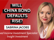 China bond defaults, interview Insight Investment