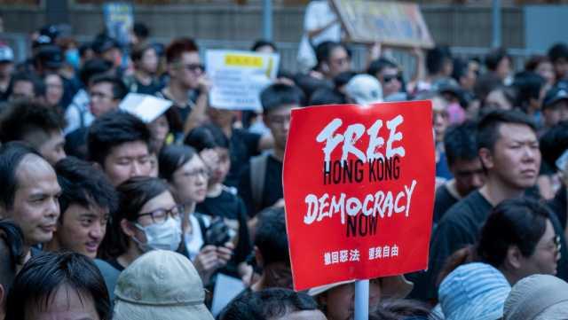 Hong Kong new election law