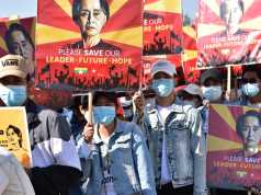 Myanmar protests