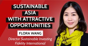 Fidelity ESG interview, Flora Wang